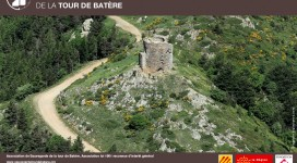 Photos aérienne de la Tour de Batère
