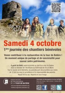 1er Chantier des Bénévoles 4 octobre 2014
